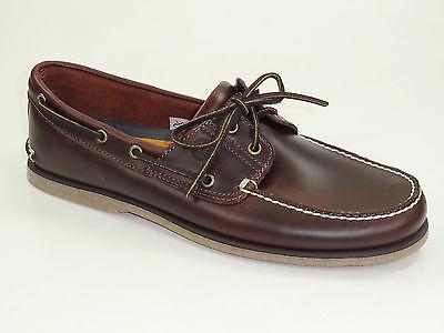 Classic 2 Eye Boat Shoe (Timberland Segelschuhe Classic 2-Eye Boat Shoes Deckschuhe Herren Schuhe 25077)