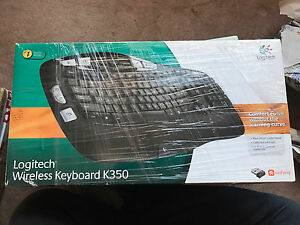 Logitech wireless keyboard k350 2.4ghz - must go
