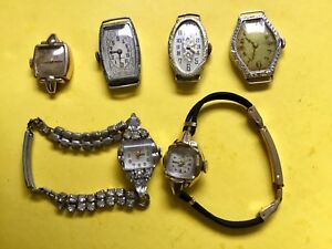 Lot de montre antiques (6)