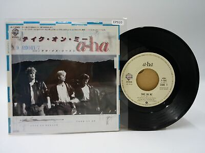 Japan EP Record A HA Take On Me Warner Pioneer 910