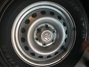 Toyota hilux Sr rims and tyres Cessnock Cessnock Area Preview