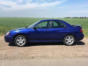 2004 Subaru Impreza RS, 2.5 litre 5 speed