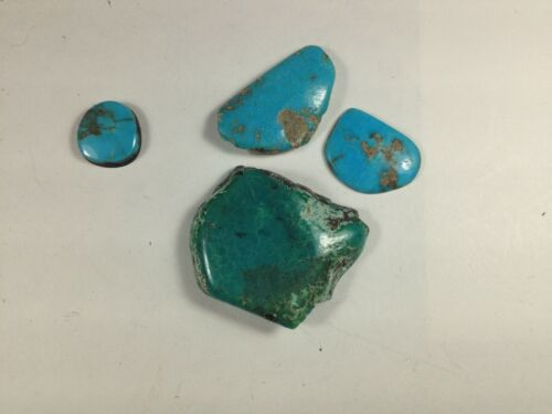 5 pieces of turquoise,  19.1 grams, Grp#15083