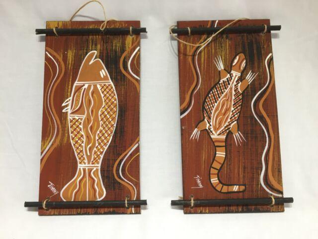 Vintage Australian Aboriginal Art-Jimmy Bowen-Nth Queensland