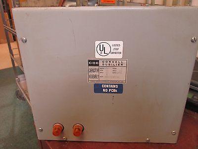Cornell Dubilier Capacitor Ims1010f33l 480v 3ph 60hz 10 Kvar Used