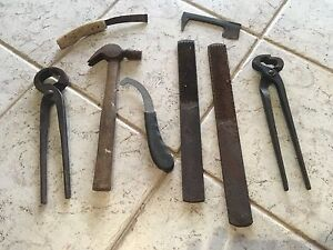 An old set of farriers tools Kulangoor Maroochydore Area Preview