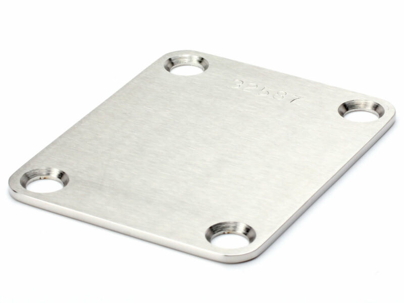 Callaham Neck Plate, Stainless With Serial No. (Satin)