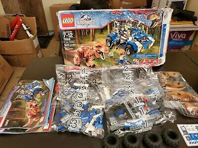 LEGO Jurassic World T. Rex Tracker Set #75918 - New Open Box - WH