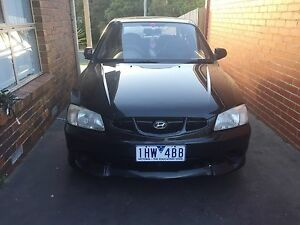 Hyundai Accent with 8 months rego, $1,700 only Rosebud Mornington Peninsula Preview