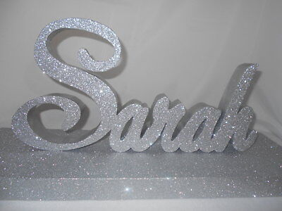 Custom Script Styrofoam Name Sign ~ Centerpiece Graduation Sweet 16 Anniversary - Styrofoam Graduation Centerpieces