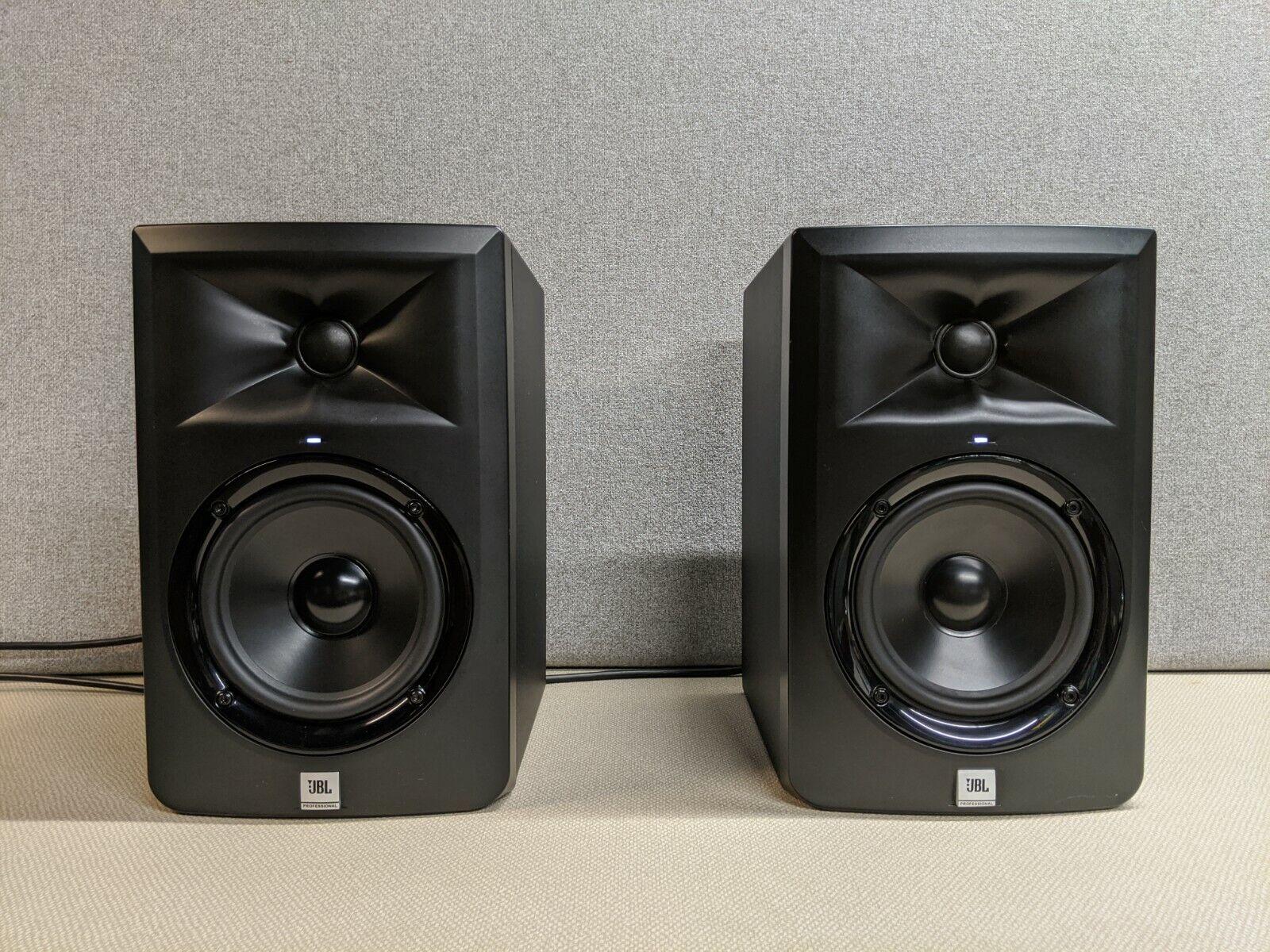 JBL LSR 305 LSR305 Series 3 Powered Studio Monitor Speakers Black, Pair - $150.00