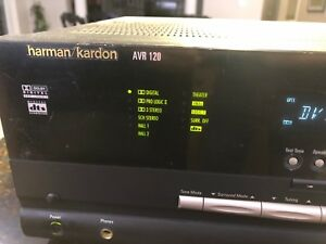 Harmon Kardon AVR 120 5.1 home theatre receiver
