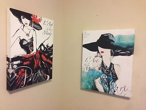 Small Canvassed Art