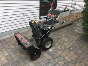 Working Used Snowblower - Tecumseh Engine