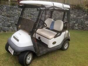 golf cart and tilt trailer Carina Brisbane South East Preview