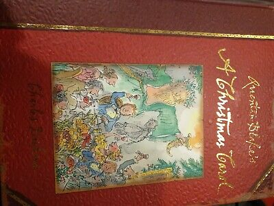 QUENTIN BLAKE'S , A CHRISTMAS CAROL. BY CHARLES DICKENS.1St impression ()