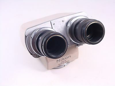 45218 Nikon Microscope Binocular Head Stereo