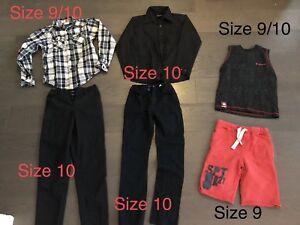 Boys clothing - size 8/10 - $1.88/item