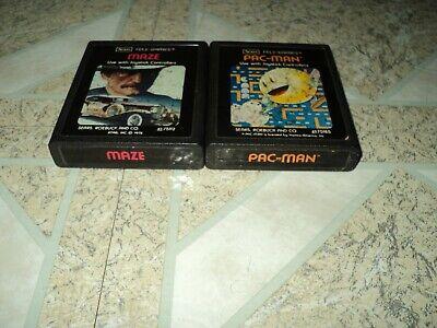 Maze & Pac-Man Atari 2600 Sears Picture Labels