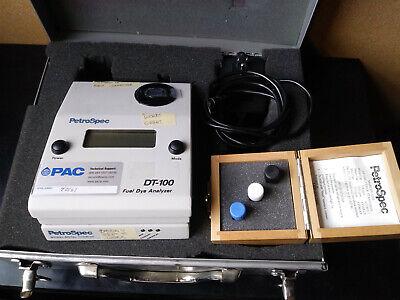 Petrospec Dt-100c Fuel Dye Analyzer W Case Power Supply Etc Base Not Working