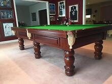 Alcocks Thompson and Taylor 3/4 pool table Camberwell Boroondara Area Preview