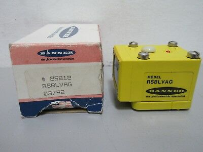 New Banner Rsblvag Photoelectric Sensor 25812