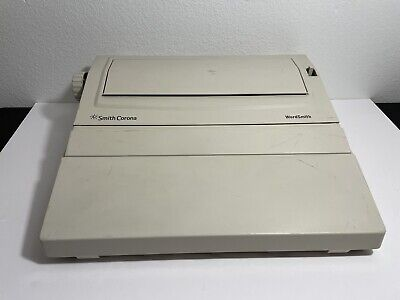 Smith Corona Wordsmith - Model Ka11 Electric Typewriter - Tested Works Great