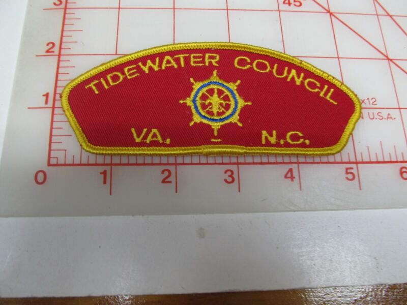 Tidewater Council CSP collectible CB patch (o34)