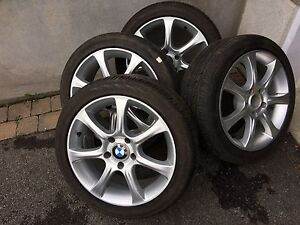 4 summer tires with mag. 5x120 (225/45/17)