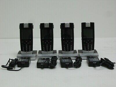 Snom M3 Cordless Dect Sip Voip Phones Lot Of 4