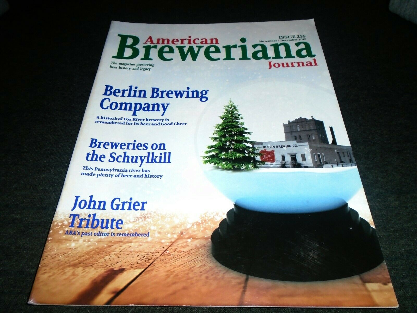 Beer History Book- Berlin Brewery, Wisconsin, Schuylkill River Breweries, Penna