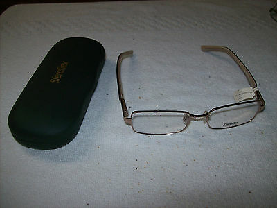 New SFEROFLEX SF2554 Ladies eyewear Frames  Light Copper  51 16 135 W/ case