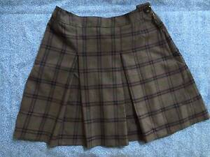 Northcote High School Skirt (Wool) Size 12 (As New Condition) Northcote Darebin Area Preview