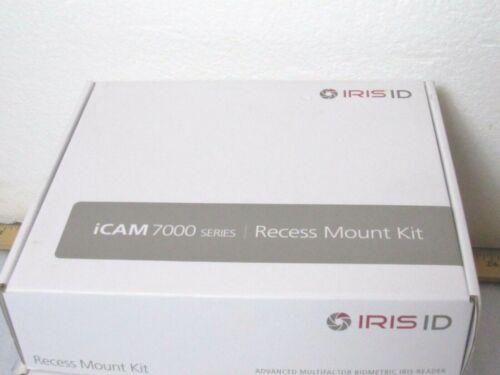 Iris ID iCAM 7000 Series Black Recess Mount Kit [CTOKT]