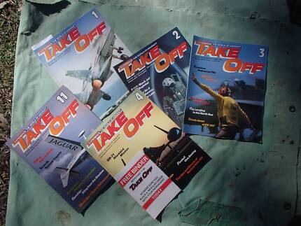 Magazines - Air Plane, Take Off, Nam and USAF