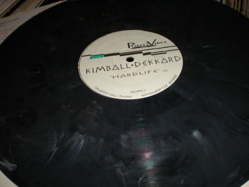 Kimball Dekkard Hardlife marble colored VINYL Lushlife