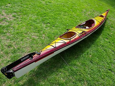 SEA TOURING KAYAK  SEAWARD - VISION  with Rudder system