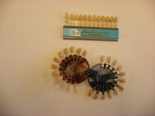 Vtg Medical & Dental Tools - Imperial H. D. Justi Co. & Verident Plastic Teeth