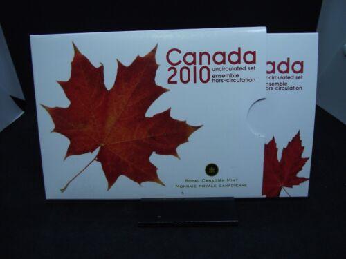 2010 CANADA Uncirculated 7 Coin Set