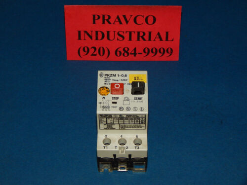 Klockner-Moeller PKZM1-0,6 Motor Starter Protector 690V 0.6A PKZM1-0.6 PKZM106