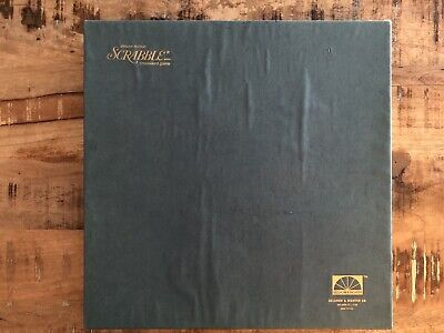 VINTAGE 1977 DELUXE EDITION TURNTABLE SCRABBLE GAME-100% COMPLETE-SELDOM PLAYED!