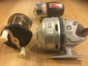 Early model and vintage fishing reels
