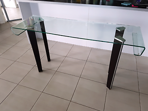 Glass sofa /entry table Mango Hill Pine Rivers Area Preview