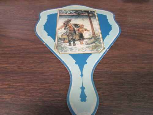VINTAGE - THE HOLLYWOOD FOUNTAIN & GRILL - SCRANTON PA - ADVERTISING FAN