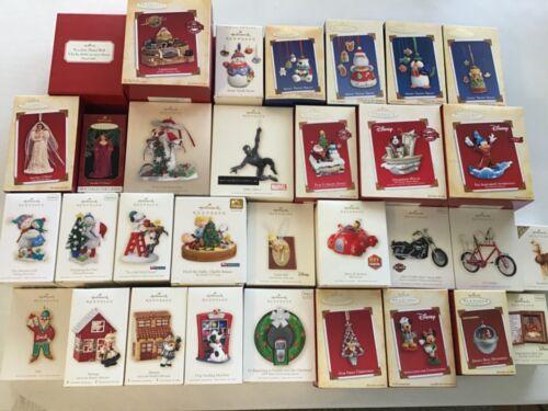 Hallmark Lot of 32 Ornaments
