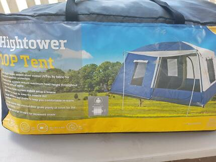 OzTrail HighTower 10Person Tent & Jackeroo 10 man tent 2 room | Camping u0026 Hiking | Gumtree Australia ...