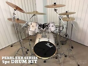 Pearl EXR Series DRUM KIT Phillip Woden Valley Preview