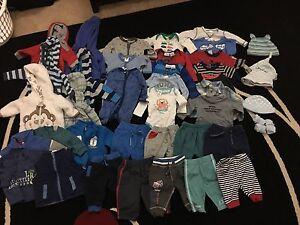 Baby boy winter clothes size 000 Park Ridge Logan Area Preview