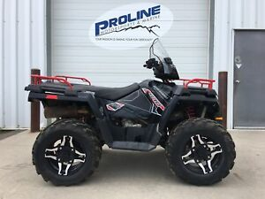 2015 Polaris Industries Sportsman® 570 SP - Black Pearl LE