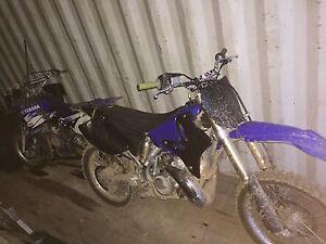 2005 YAMAHA YZ250 & 1998 YZ80